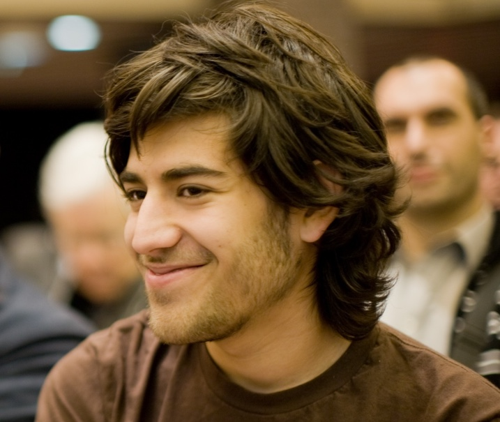 Photograph of Aaron Swartz