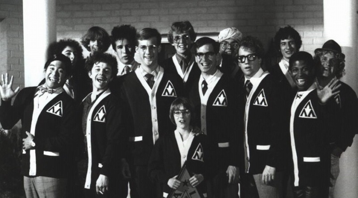 Photograph of characters from the movie Revenge Of The Nerds